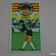 Cromos de Fútbol: CROMO DE FUTBOL SEMPERE DEL VALENCIA C.F. DESPEGADO LIGA ESTE 1985-1986/85-86. Lote 222896788
