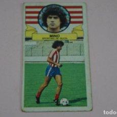 Cromos de Fútbol: CROMO DE FUTBOL MINO DEL SPORTING DE GIJONDESPEGADO LIGA ESTE 1985-1986/85-86. Lote 222897241