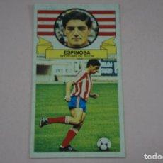 Cromos de Fútbol: CROMO DE FUTBOL ESPINOSA DEL SPORTING DE GIJONDESPEGADO LIGA ESTE 1985-1986/85-86. Lote 222900218