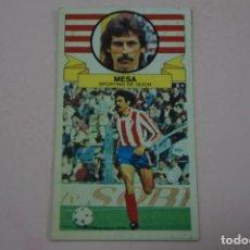 Cromos de Fútbol: CROMO DE FUTBOL MESA DEL SPORTING DE GIJONDESPEGADO LIGA ESTE 1985-1986/85-86. Lote 222900372