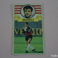 Cromos de Fútbol: CROMO DE FUTBOL ABLANEDO II DEL SPORTING DE GIJONDESPEGADO LIGA ESTE 1985-1986/85-86. Lote 222900608