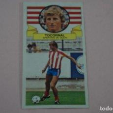 Cromos de Fútbol: CROMO DE FUTBOL TOCORNAL DEL SPORTING DE GIJON BAJA DESPEGADO LIGA ESTE 1985-1986/85-86. Lote 222900695