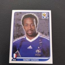 Cromos de Fútbol: 101 SIDNEY GOVOU- PANINI FIFA WORLD CUP SOUTH ÁFRICA 2010 MUNDIAL. Lote 222901542