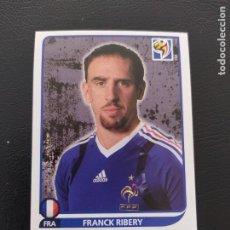 Cromos de Fútbol: 100 FRANCK RIBÉRY - PANINI FIFA WORLD CUP SOUTH ÁFRICA 2010 MUNDIAL. Lote 222901622