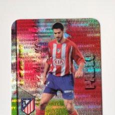 Cromos de Fútbol: MUNDICROMO LAS FICHAS DE LA LIGA 2008 PABLO SECURITY HORIZONTAL N° 189 ATLÉTICO MADRID. Lote 222901643