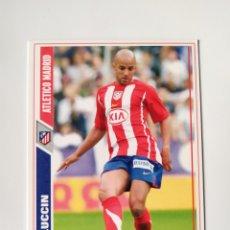 Cromos de Fútbol: MUNDICROMO LAS FICHAS DE LA LIGA 2008 LUCCIN N° 176 ATLÉTICO MADRID. Lote 222901835