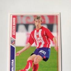 Cromos de Fútbol: MUNDICROMO LAS FICHAS DE LA LIGA 2008 VALERA N° 587 ATLÉTICO MADRID. Lote 222901890