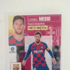 Cromos de Fútbol: MESSI ESTE 20 21 BARCELONA 2020 2021 NUEVO DE SOBRE. Lote 222901905