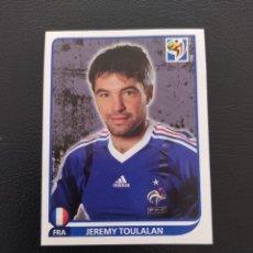 Cromos de Fútbol: 96 JEREMY TOULALAN - PANINI FIFA WORLD CUP SOUTH ÁFRICA 2010 MUNDIAL. Lote 222902035