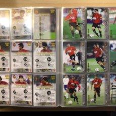 Cromos de Fútbol: EQUIPO COMPLETO RCD MALLORCA MEGACRACKS MEGAFICHAS 2002 2003 02 03. Lote 223684345