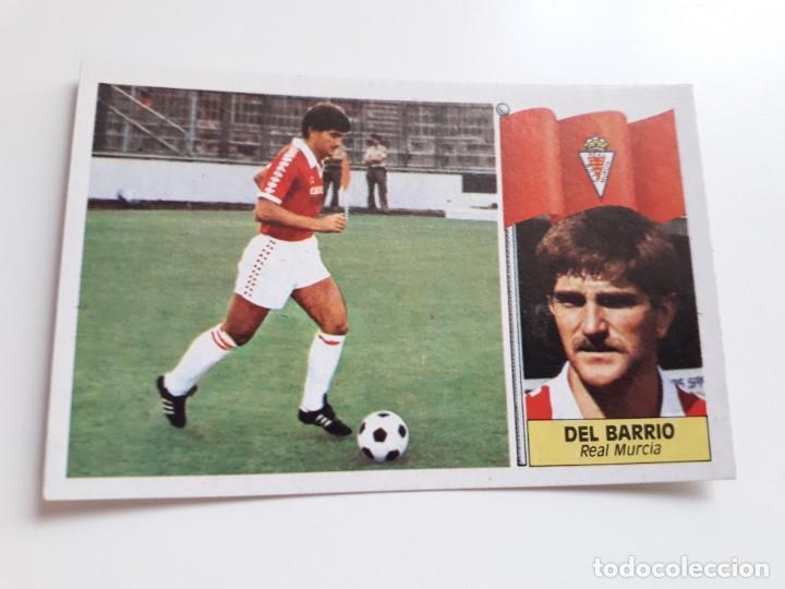 DEL BARRIO MURCIA EDICIONES ESTE CROMO SIN PEGAR NUEVO 86 87 1986 1987 (Coleccionismo Deportivo - Álbumes y Cromos de Deportes - Cromos de Fútbol)