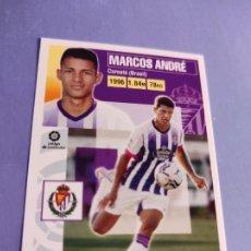 Cartes à collectionner de Football: 16 MARCOS ANDRE VALLADOLID LIGA ESTE 2020 2021 20 21. Lote 233435870