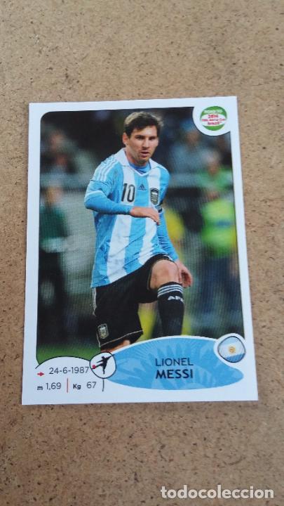 ROAD TO UEFA EURO 2020 - 72 MESSI - ARGENTINA ( NUNCA PEGADO ) (290) (Coleccionismo Deportivo - Álbumes y Cromos de Deportes - Cromos de Fútbol)