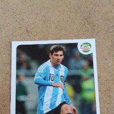 Cromos de Fútbol: ROAD TO UEFA EURO 2020 - 72 MESSI - ARGENTINA ( NUNCA PEGADO ) (290). Lote 223949152