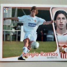 Cromos de Fútbol: SERGIO RAMOS DEL SEVILLA F.C. DE EDICIONES ESTE 2004 2005 04 05, NUNCA PEGADO (ROOKIE - STICKER). Lote 224015972