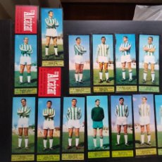 Cromos de Fútbol: LOTE 13 CROMOS FÚTBOL CÓRDOBA EL ALCÁZAR ÁLBUM LOS JUGADORES UNO A UNO 1967-1968 67-68. Lote 224221931