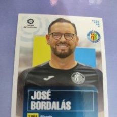 Cartes à collectionner de Football: 1 JOSE BORDALAS ENTRENADOR GETAFE LIGA ESTE 2020 2021 20 21. Lote 236216145
