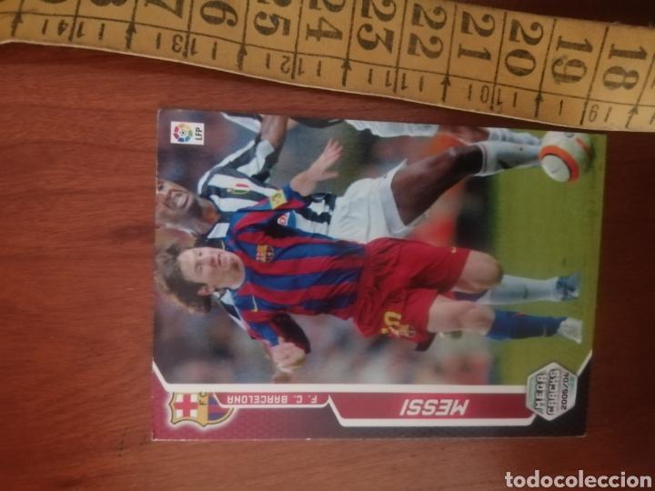 Cromos de Fútbol: LEO MESSI - N°71 BIS MEGACRACKS 2005 - FC BARCELONA #ROOKIE #ROOKIES - Foto 2 - 224688933