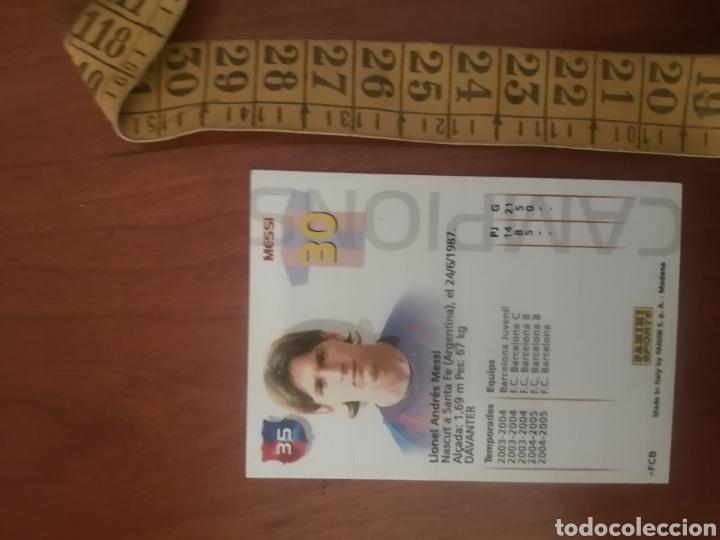 LEO MESSI - N°71 BIS MEGACRACKS 2005 - FC BARCELONA #ROOKIE #ROOKIES (Coleccionismo Deportivo - Álbumes y Cromos de Deportes - Cromos de Fútbol)