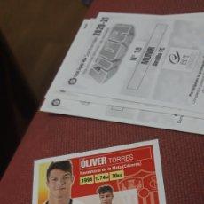 Cartes à collectionner de Football: OLIVER 13 SEVILLA ESTE 20 21 2020.2021 SIN PEGAR. Lote 224797761