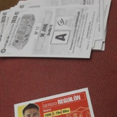 Cartes à collectionner de Football: REGUILON 8 SEVILLA ESTE 20 21 2020.2021 SIN PEGAR. Lote 224798151