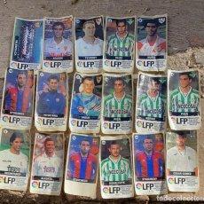 Cromos de Fútbol: CROMOS ANTIGUOS DE FUTBOL DE CHICLE LIGA 96-97 LOTE DE 17 UDS.. Lote 224803471
