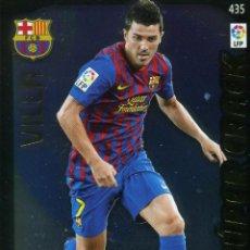Cromos de Fútbol: ADRENALYN 2011-12 Nº 435 DAVID VILLA - FC BARCELONA. Lote 224866037