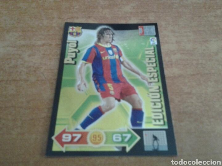 CARLES PUYOL EDICIÓN ESPECIAL 2011 ADRENALYN XL FC BARCELONA (Coleccionismo Deportivo - Álbumes y Cromos de Deportes - Cromos de Fútbol)