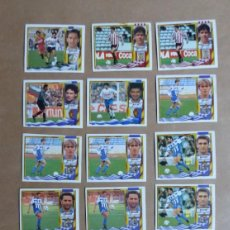 Cromos de Fútbol: 52 CROMOS DE LA LIGA 1995-1996 95-96 ESTE, VER FOTOS ADICIONALES. Lote 225316623