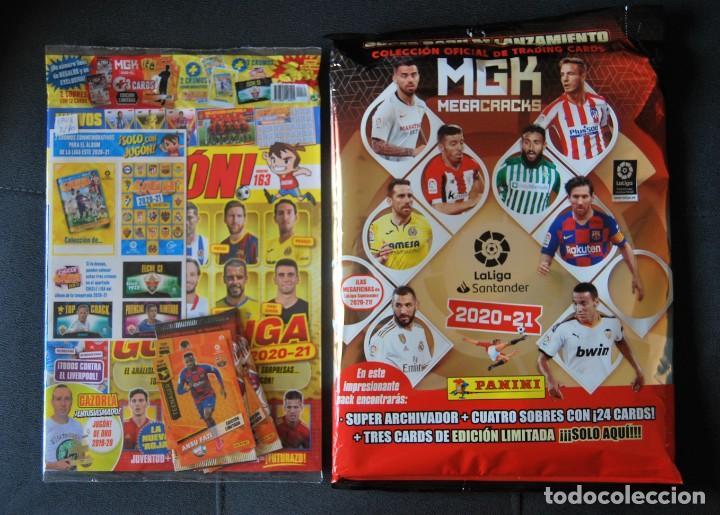 MEGACRACKS 2020 2021 / 20 21 PACK LANZAMIENTO + REVISTA JUGÓN 163 MESSI EDICIÓN LIMITADA MGK ROOKIE (Coleccionismo Deportivo - Álbumes y Cromos de Deportes - Cromos de Fútbol)