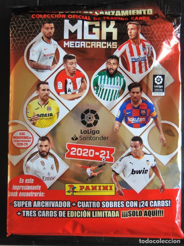 Cromos de Fútbol: Megacracks 2020 2021 / 20 21 Pack lanzamiento + Revista Jugón 163 Messi Edición Limitada MGK rookie - Foto 3 - 225366000