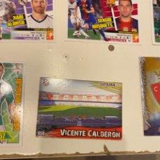 Cromos de Fútbol: C-2002 CROMO FUTBOL LIGA 2014 MUNDICROMO Nº 056 VICENTE CALDERON. Lote 225565285