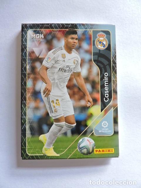 226 - CASEMIRO - REAL MADRID - MGK - MEGACRACKS LIGA 2020 2021 20 21 - PANINI (Coleccionismo Deportivo - Álbumes y Cromos de Deportes - Cromos de Fútbol)