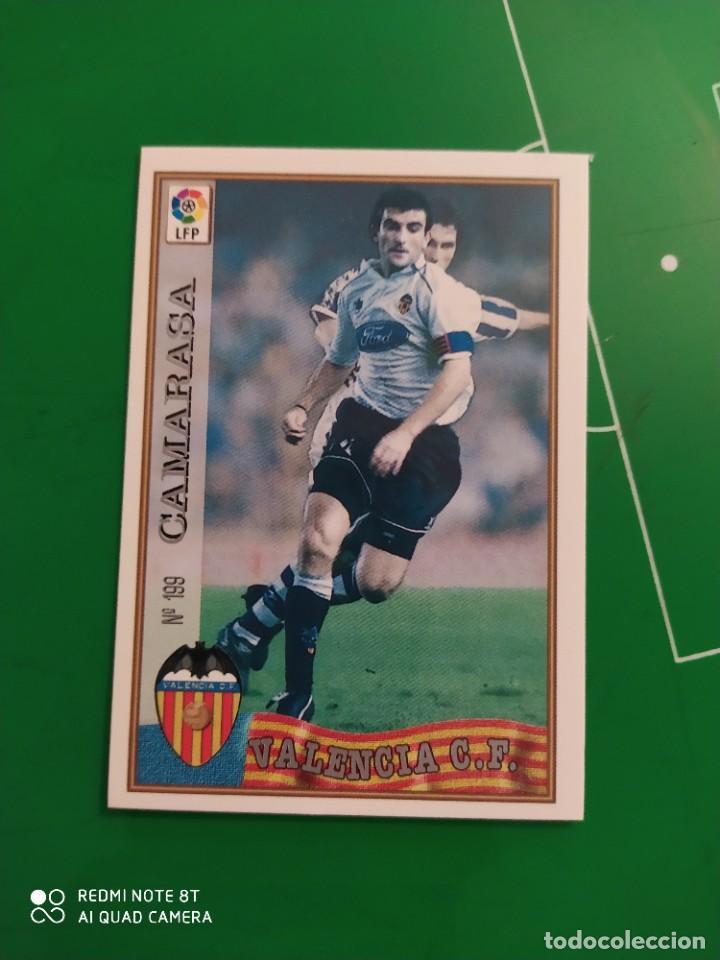 N° 199 CAMARASA - VALENCIA CF- MUNDICROMO - FICHAS DE LA LIGA 97 98 (Coleccionismo Deportivo - Álbumes y Cromos de Deportes - Cromos de Fútbol)
