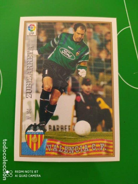 N° 194 ZUBIZARRETA - VALENCIA CF- MUNDICROMO - FICHAS DE LA LIGA 97 98 (Coleccionismo Deportivo - Álbumes y Cromos de Deportes - Cromos de Fútbol)
