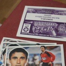 Cromos de Fútbol: NIÑO MALLORCA ESTE 00 01 2000.2001.SIN PEGAR. Lote 226106968