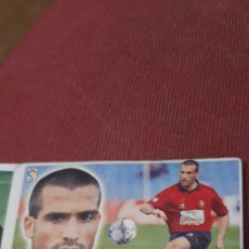 Cromos de Fútbol: MATEO OSASUNA ESTE 00 01 2000.2001.SIN PEGAR. Lote 226110002