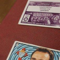 Cromos de Fútbol: ESCUDO CELTA ESTE 00 01 2000.2001.SIN PEGAR. Lote 226110817