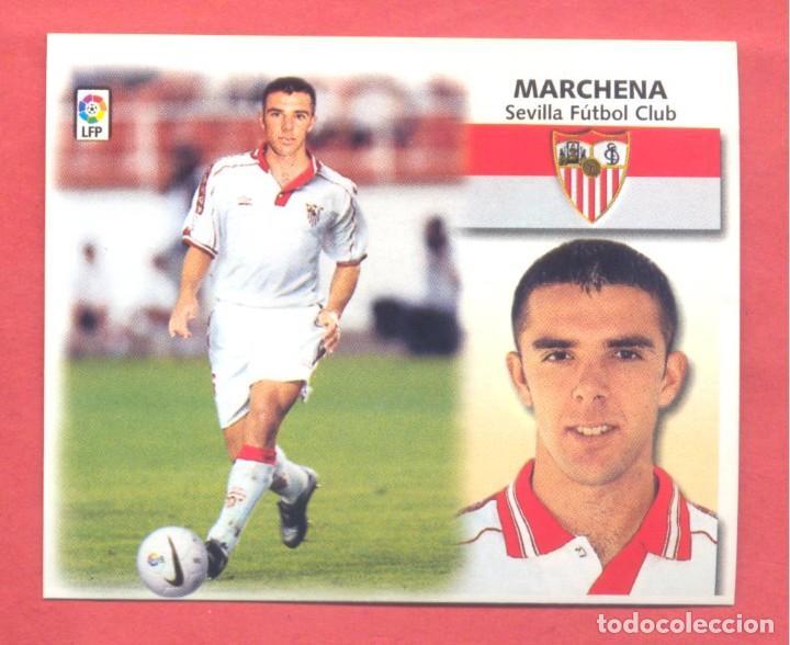 LIGA 1999-2000 ESTE,COLOCA MARCHENA SEVILLA, NUEVO, NUNCA PEGADO, VER FOTOS (Coleccionismo Deportivo - Álbumes y Cromos de Deportes - Cromos de Fútbol)