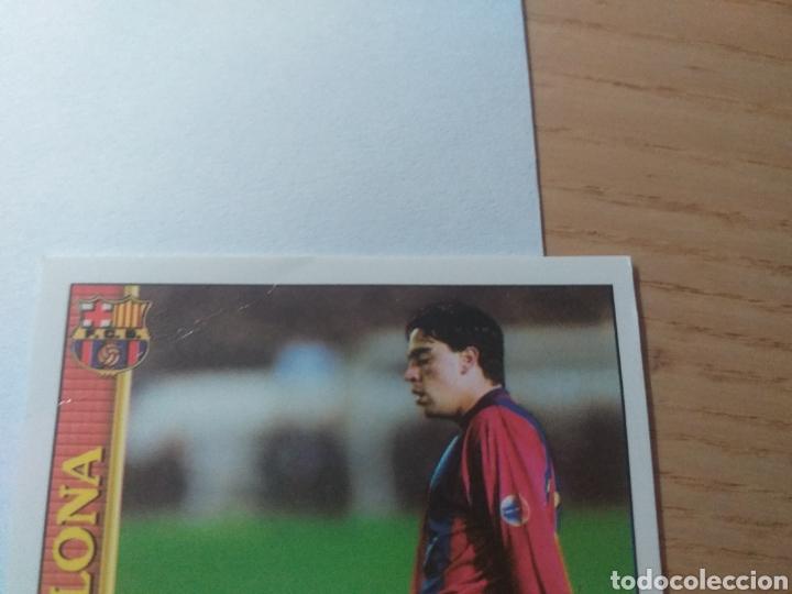 Cromos de Fútbol: M FÚTBOL CROMO Nº 18 XAVI F.C. BARCELONA MUNDICROMO 1999 2000 - Foto 3 - 226115271