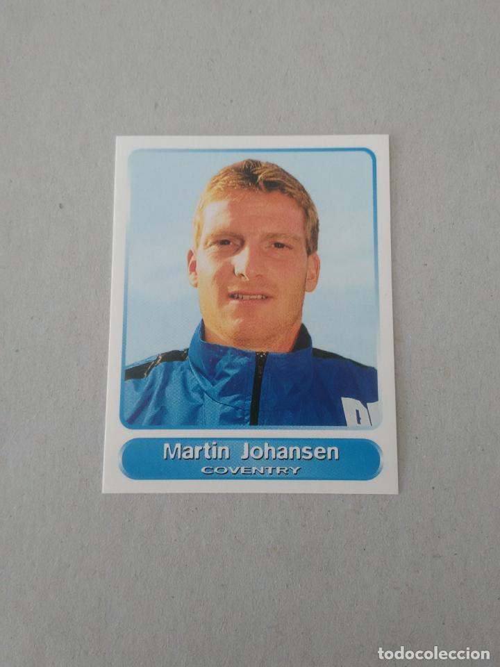 Nº 164 MARTIN JOHANSEN COVENTRY CROMO STICKER SUPER PLAYERS 98 PANINI PREMIER LEAGUE INGLATERRA 1998 (Coleccionismo Deportivo - Álbumes y Cromos de Deportes - Cromos de Fútbol)