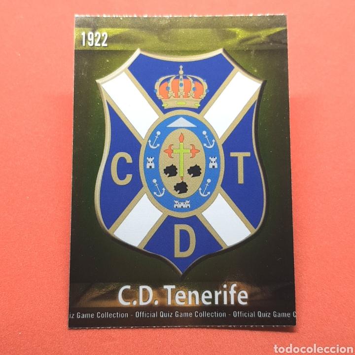 (41.3) MUNDICROMO LIGA 2009-2010 - ESCUDO. (TENERIFE) - N°514 (Coleccionismo Deportivo - Álbumes y Cromos de Deportes - Cromos de Fútbol)
