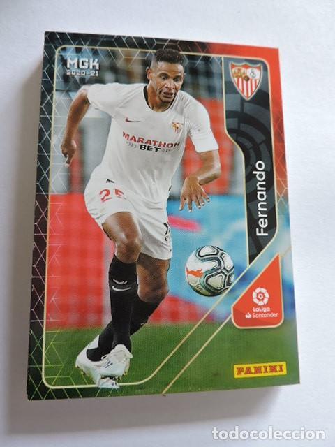 279 - FERNANDO - SEVILLA - MGK - MEGACRACKS LIGA 2020 2021 20 21 - PANINI (Coleccionismo Deportivo - Álbumes y Cromos de Deportes - Cromos de Fútbol)