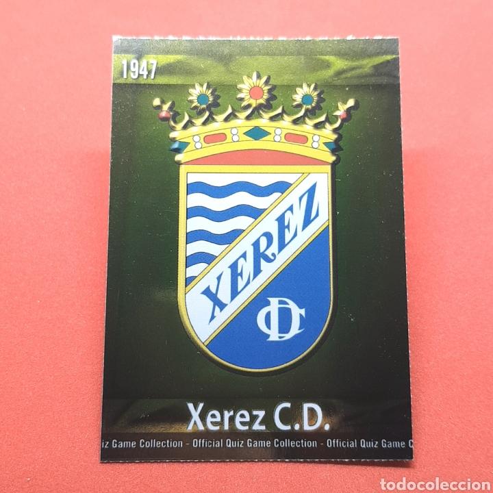(41.3) MUNDICROMO LIGA 2009-2010 - ESCUDO. (XEREZ) - N°460 (Coleccionismo Deportivo - Álbumes y Cromos de Deportes - Cromos de Fútbol)