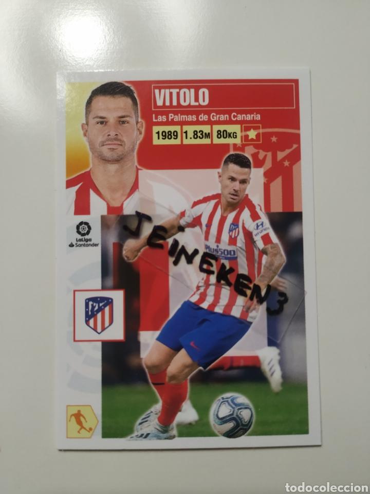 ESTE 2020/21 14 B VITOLO AT.MADRID (Coleccionismo Deportivo - Álbumes y Cromos de Deportes - Cromos de Fútbol)