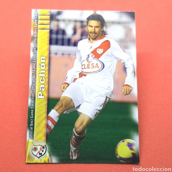 (41.3) MUNDICROMO LIGA 2009-2010. (RAYO) - N°813 PACHÓN (Coleccionismo Deportivo - Álbumes y Cromos de Deportes - Cromos de Fútbol)