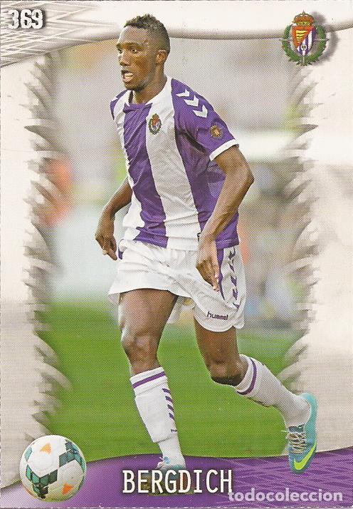 2013-2014 - 369 BERGDICH - REAL VALLADOLID - MUNDICROMO OFFICIAL QUIZ GAME - 9 (Coleccionismo Deportivo - Álbumes y Cromos de Deportes - Cromos de Fútbol)