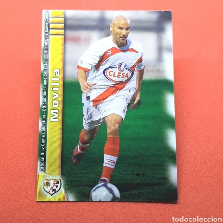 (41.3) MUNDICROMO LIGA 2009-2010. (RAYO) - N°806 MOVILLA (Coleccionismo Deportivo - Álbumes y Cromos de Deportes - Cromos de Fútbol)
