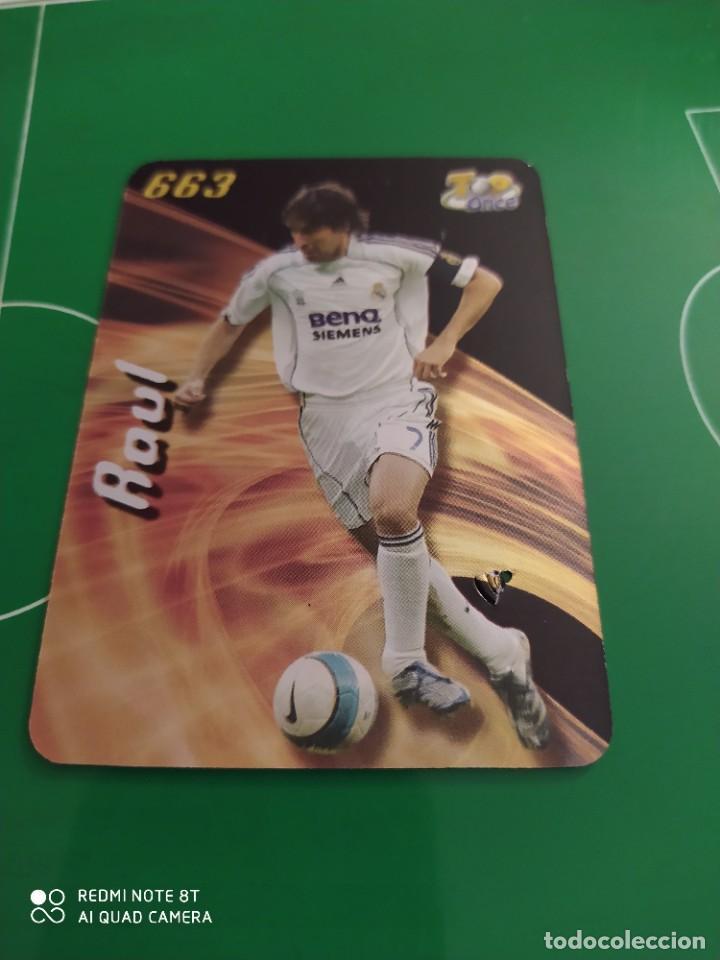 N° 663 RAÚL BRILLANTE MUNDICROMO 08 LAS FICHAS DE LA LIGA 2008 (Coleccionismo Deportivo - Álbumes y Cromos de Deportes - Cromos de Fútbol)