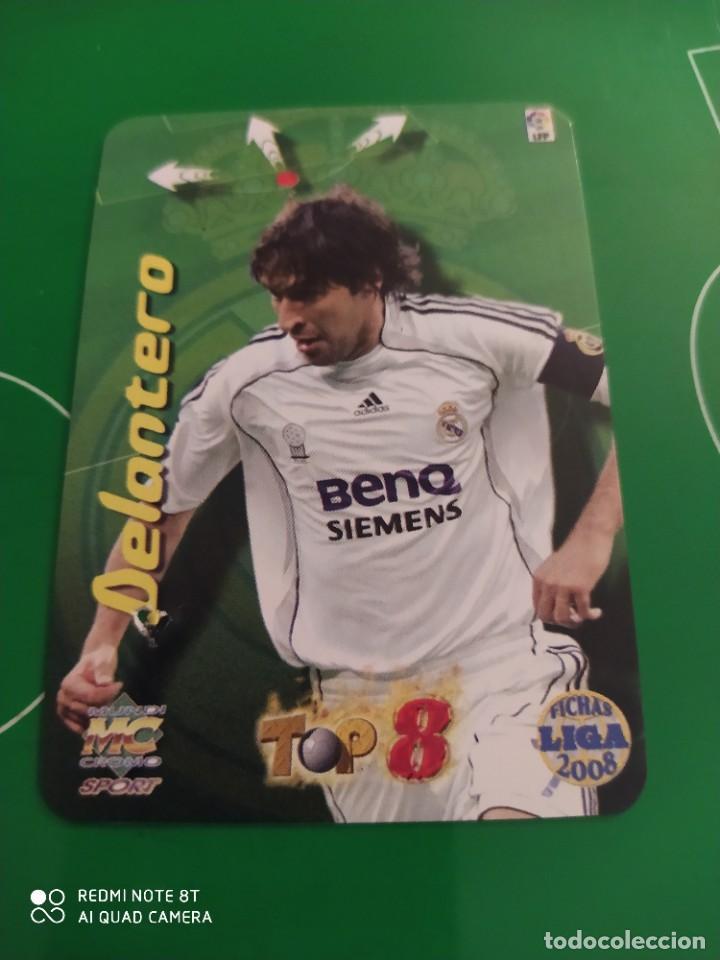 Cromos de Fútbol: N° 663 RAÚL BRILLANTE MUNDICROMO 08 LAS FICHAS DE LA LIGA 2008 - Foto 2 - 226127070